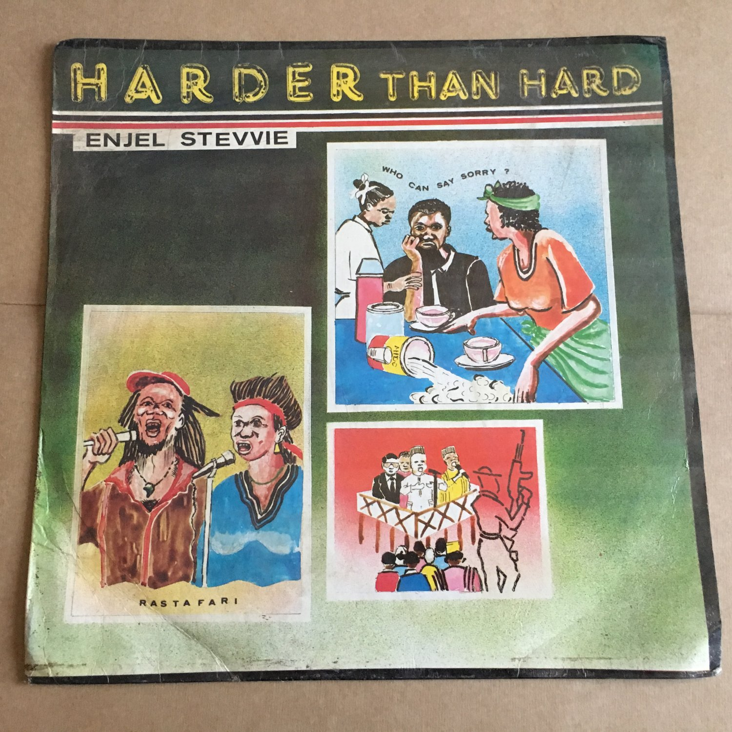 ENJEL STEVVIE LP harder than hard NIGERIA REGGAE mp3 LISTEN