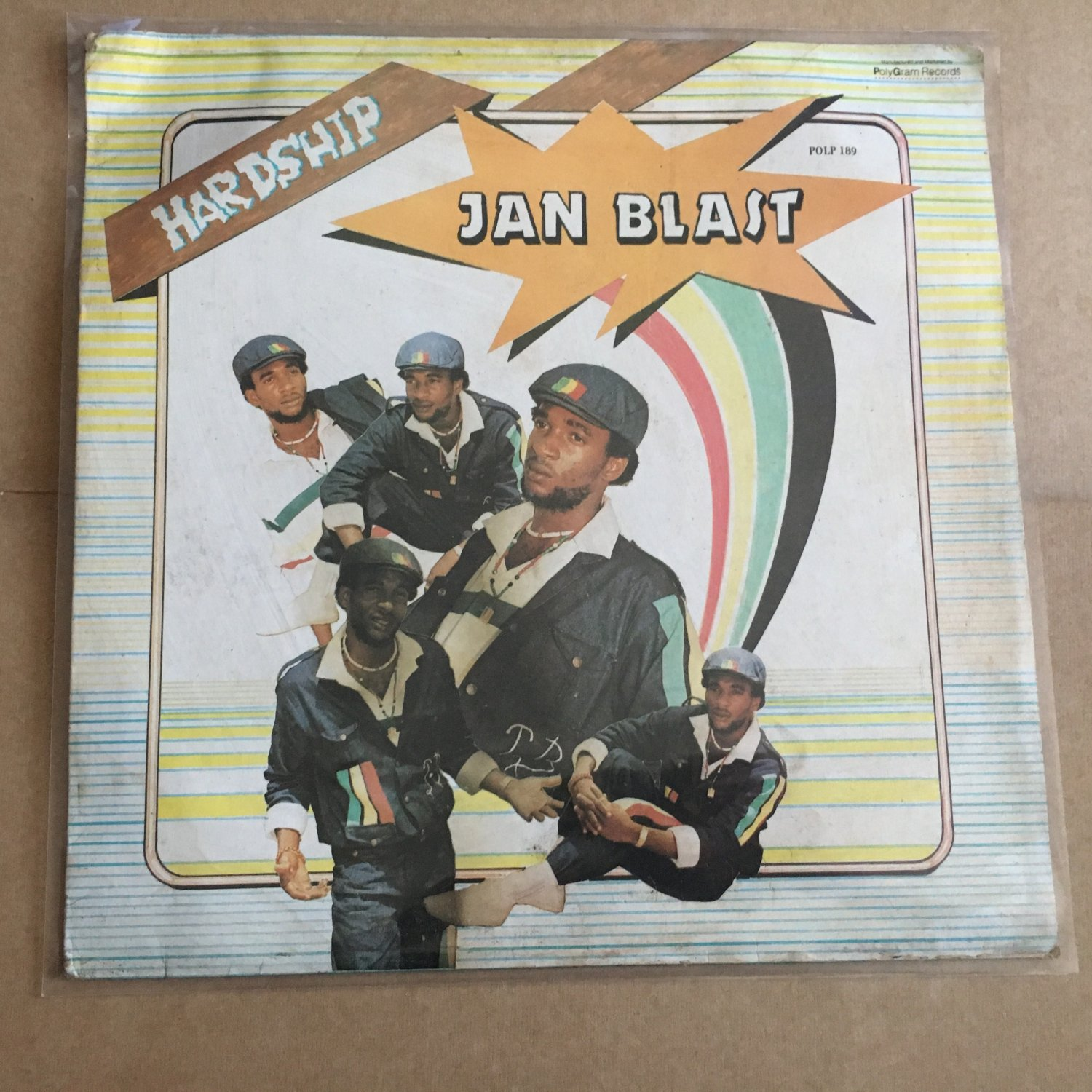 JAN BLAST LP hardship NIGERIA AFRO REGGAE mp3 LISTEN