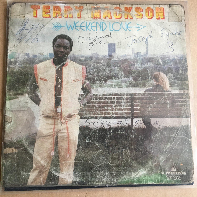 TERRY MACKSON LP week end love NIGERIA BOOGIE FUNK mp3 LISTEN