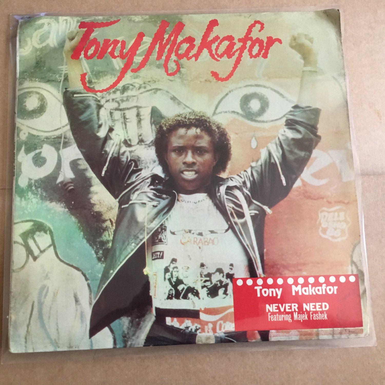 TONY MAKAFOR LP never need OBSCURE NIGERIA BOOGIE FUNK ELECTRO REGGAE mp3 LISTEN