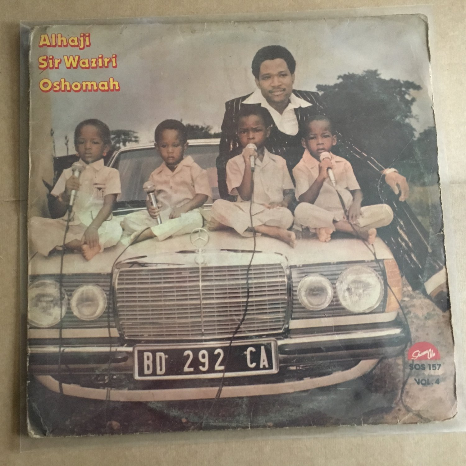 SIR WAZIRI OSHOMAH LP vol. 4 HIGHLIFE NIGERIA mp3 LISTEN