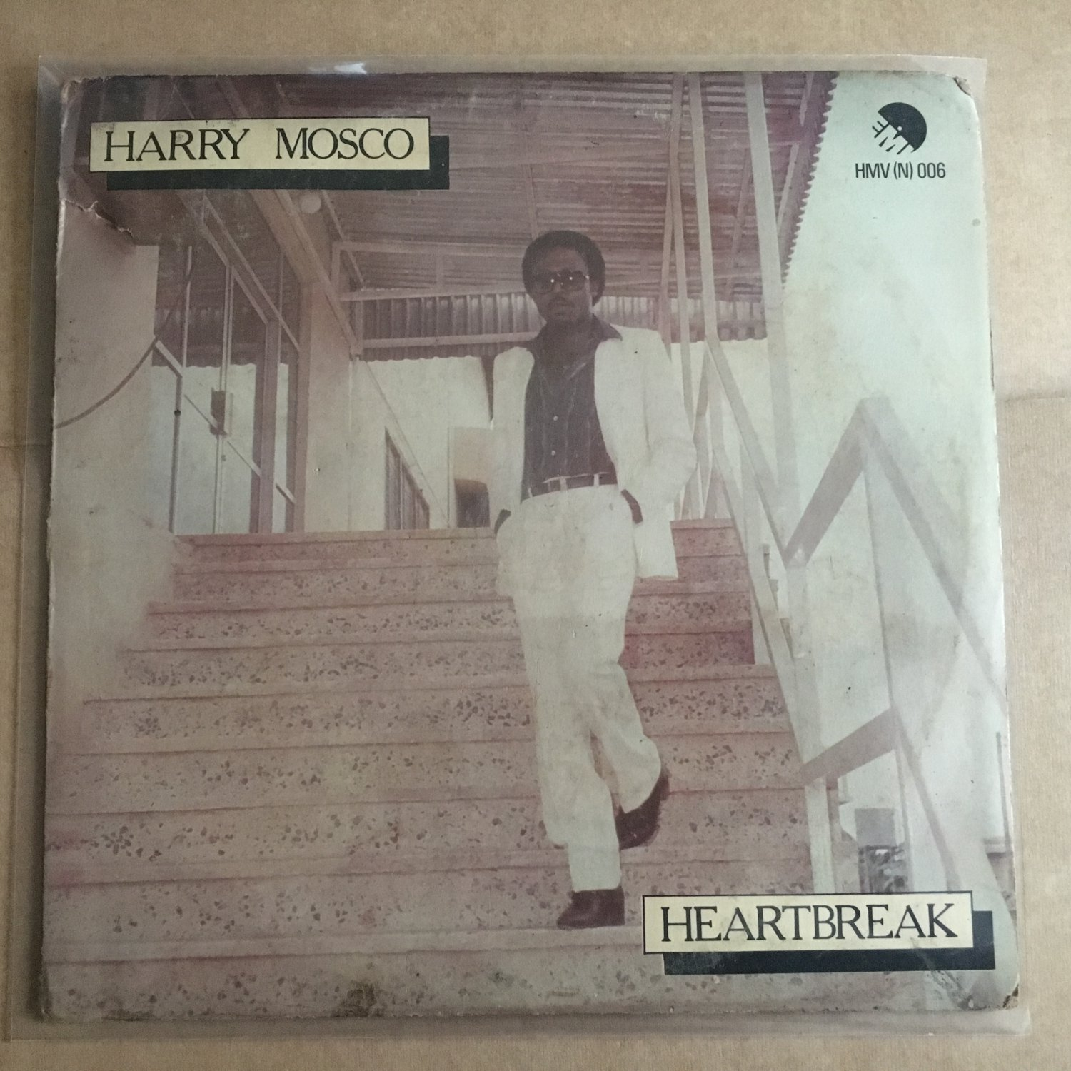 HARRY MOSCO LP heartbreak NIGERIA AFRO BOOGIE FUNK FUNKEES mp3 LISTEN