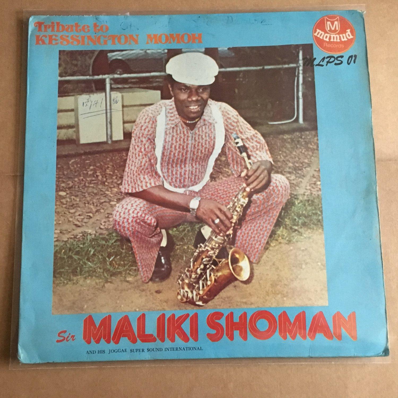 SIR MALIKI SHOWMAN LP tribute to kessington momoh NIGERIA HIGHLIFE mp3 LISTEN