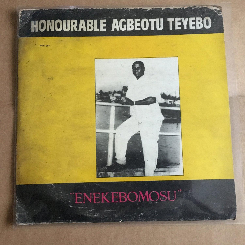 AGBEOTU TEIYEBO LP enekebomosu NIGERIA IZON HIGHLIFE mp3 LISTEN