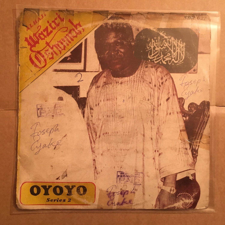 ALHAJI WAZIRI OSHOMAH LP oyoyo NIGERIA HIGHLIFE mp3 LISTEN