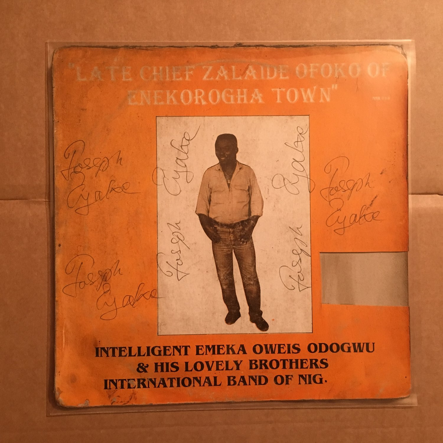 INTELLIGENT EMEKA OWEIS ODOGWU LP late NIGERIA IZON HIGHLIFE mp3 LISTEN