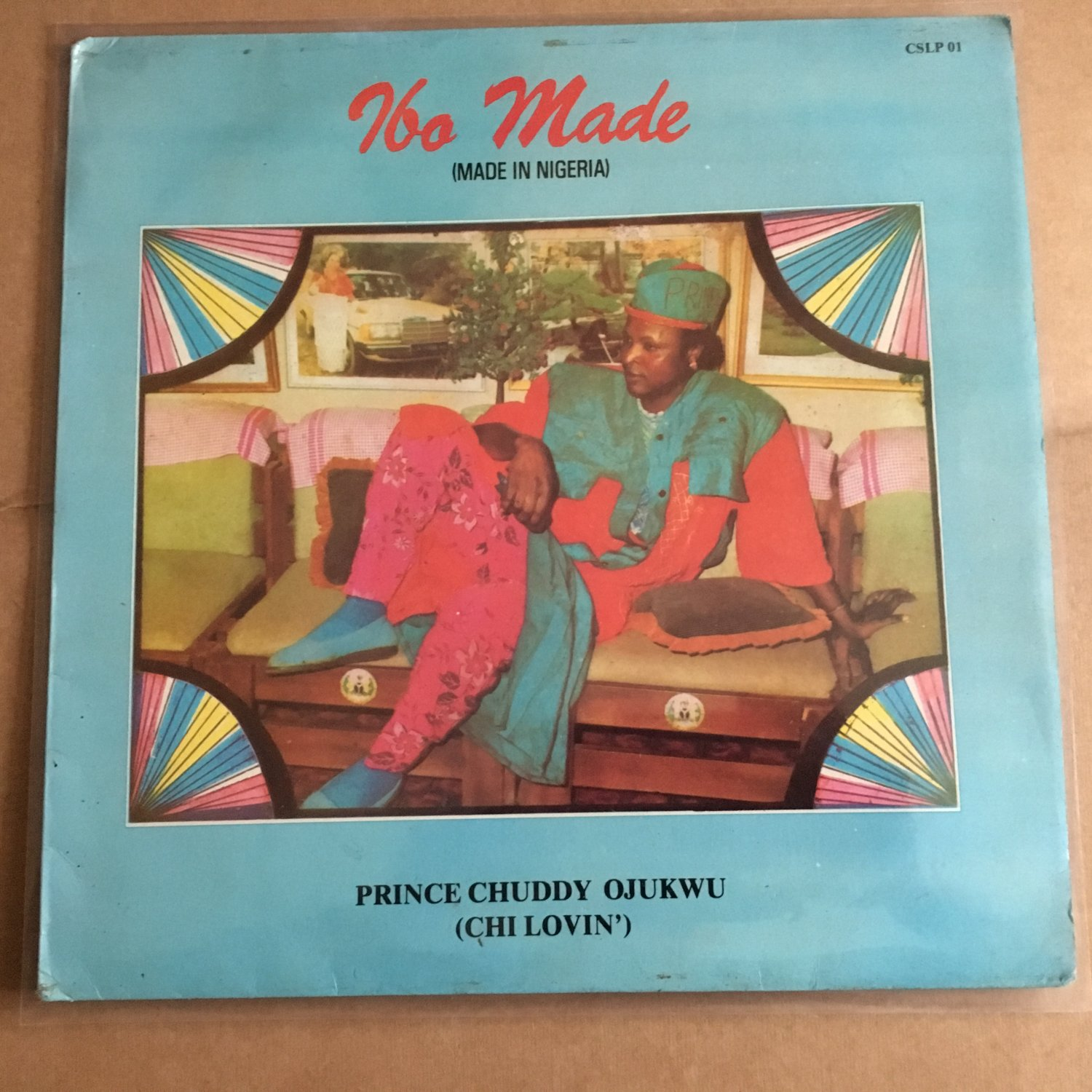 **PRINCE CHUDDY OJUKWU LP ilo made NIGERIA HIGHLIFE mp3 LISTEN