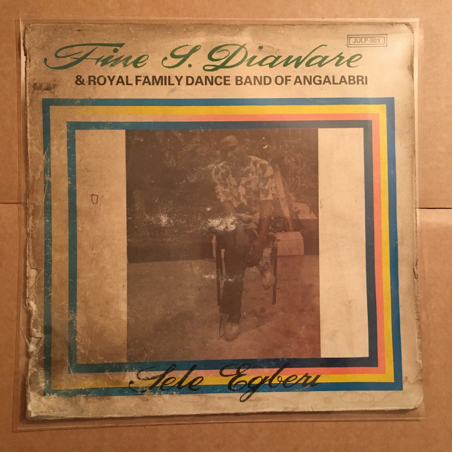 FINE S. DIAWARE & ROYAL FAMILY LP sele egberi NIGERIA HIGHLIFE mp3 LISTEN