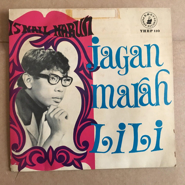 """ISMAIL HARUN 45 EP jagan marah Lili MALAYSIA GARAGE 1968 FREAKBEAT mp3 LISTEN 7"""""""