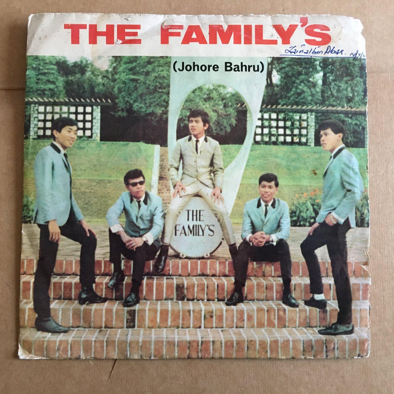 THE FAMILY'S 45 EP pujaan hati ku MALAYSIA GARAGE 60's FREAKBEAT mp3 LISTEN