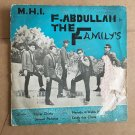 "F. ABDULLAH & THE FAMILY'S 45 EP hasat cinta MALAYSIA FREAKBEAT GARAGE 60's mp3 LISTEN 7"""