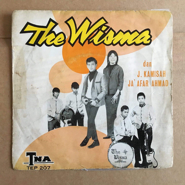 **THE WISMA & J. KASIMAH - JAAFAR AHMAD 45 EP terkulai MALAYSIA 60's GARAGE mp3 LISTEN