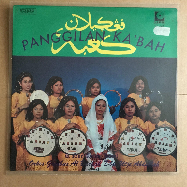 H. NUR ASIAH MEDAN & ORKES GAMBUS AL BARKAH LP panggilan Ka'bah INDONESIA  mp3 LISTEN