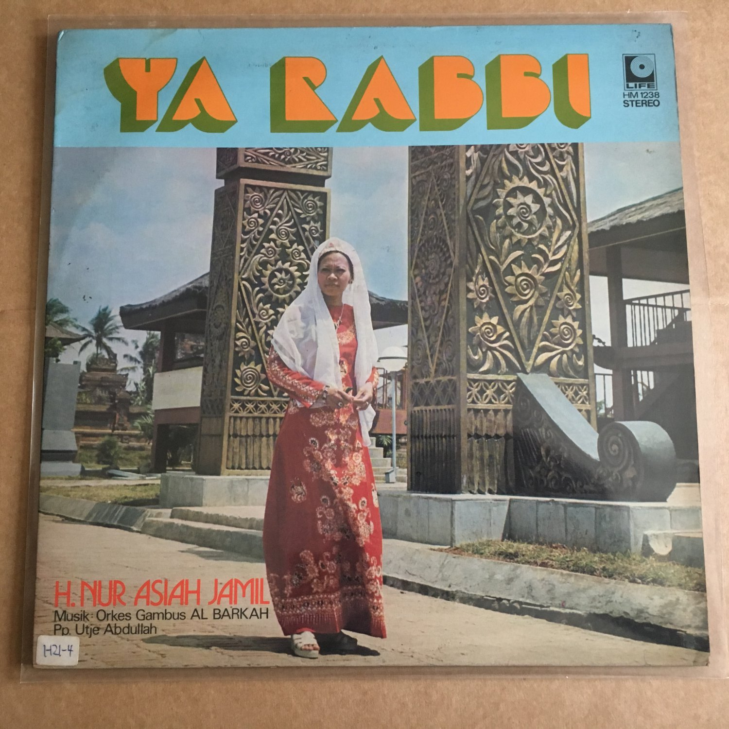 H. NUR ASIAH JAMIL & ORKES GAMBUS AL BARKAH LP ya Rabbi INDONESIA  mp3 LISTEN