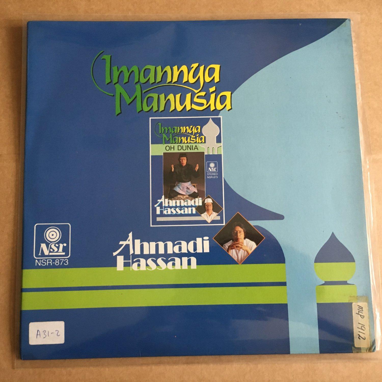 AHMADI HASSAN LP imannya MALAYSIA CHEESY DISCO FUNK GAMBUS BREAKS mp3 LISTEN