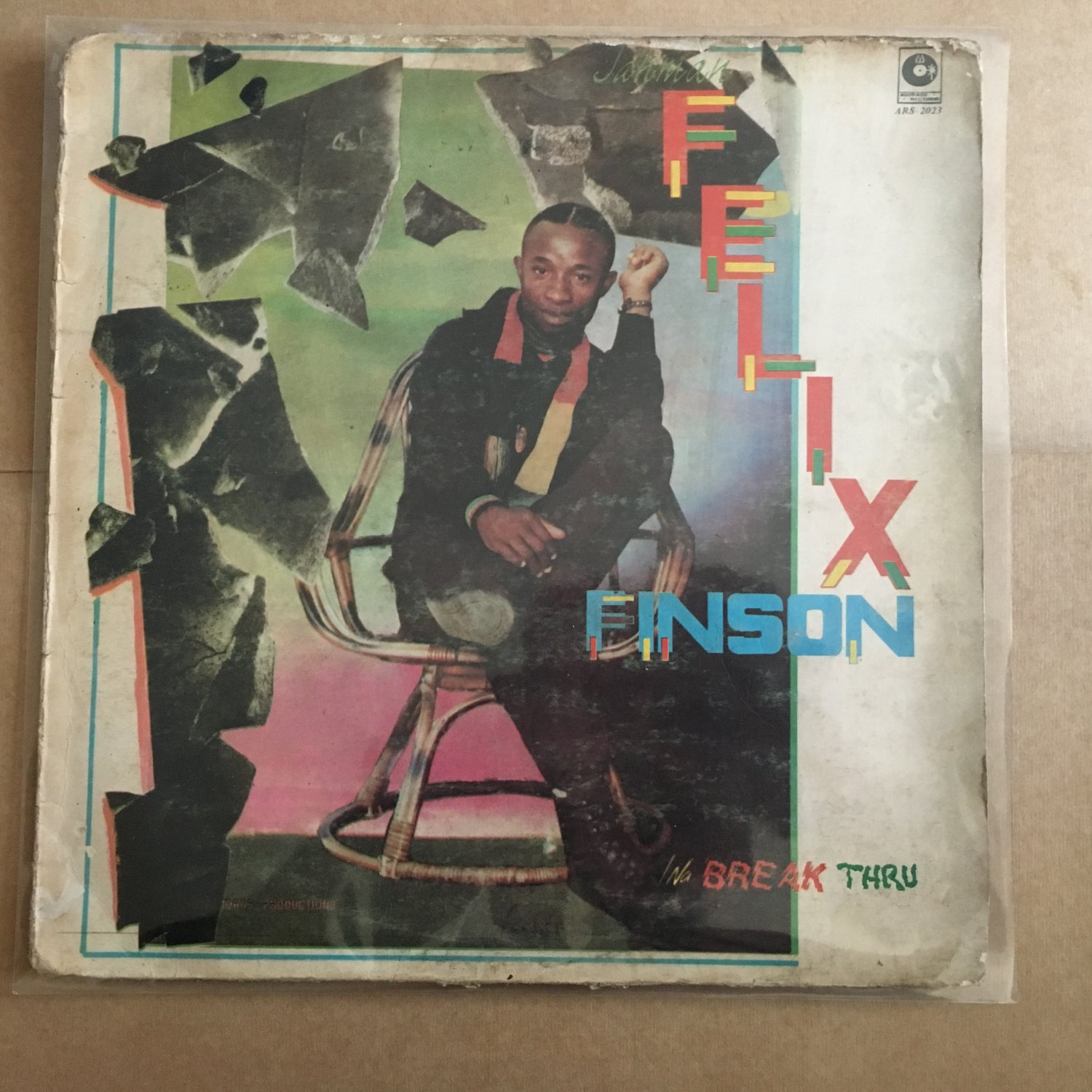 FELIX FINSON LP break thru NIGERIA REGGAE mp3 LISTEN