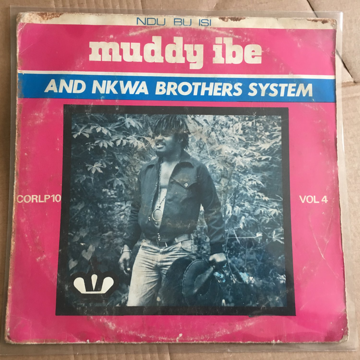 MUDDY IBE & NKWA BROTHERS SYSTEM LP vol. 4 NIGERIA HIGHLIFE mp3 LISTEN