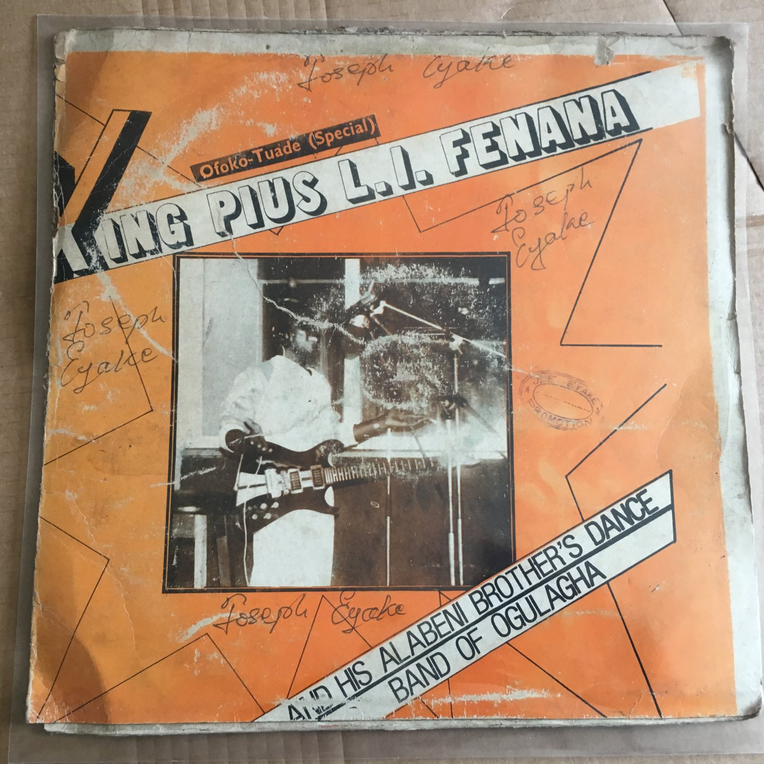PRINCE DCK LAGOS & HIS REF. BAND LP tolomone ogbo special NIGERIA HIGHLIFE mp3 LISTEN