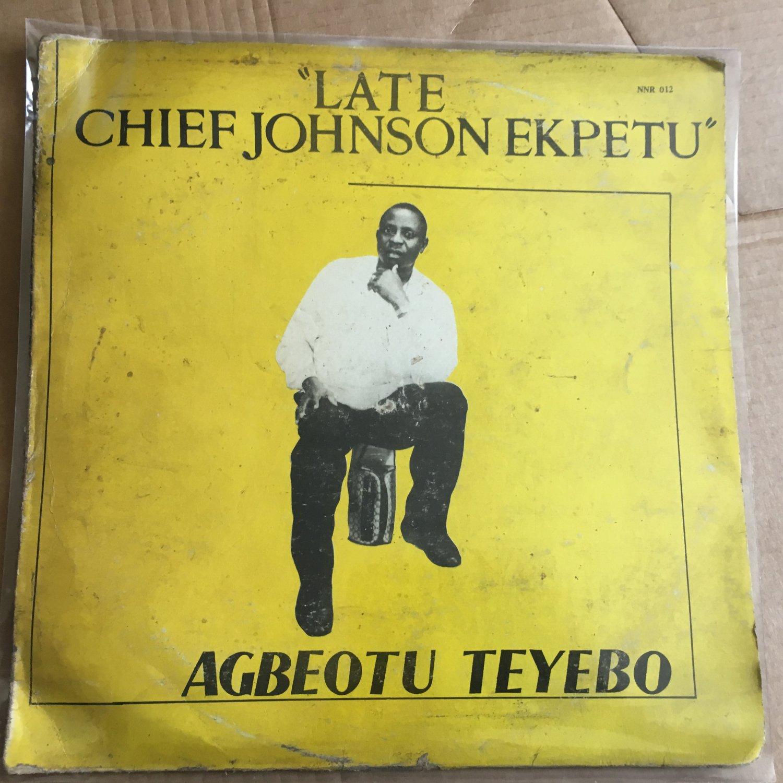 AGBEOTU TEYEBO LP late Chief Ekpetu NIGERIA IJAW HIGHLIFE mp3 LISTEN
