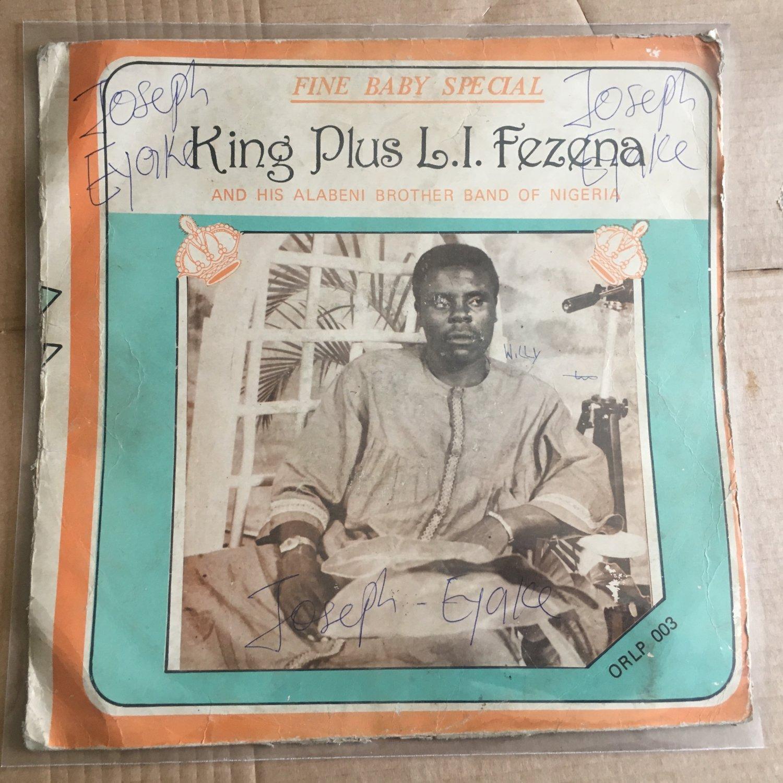KING PLUS L.I. FENANA LP fine baby special NIGERIA IJAW HIGHLIFE mp3 LISTEN