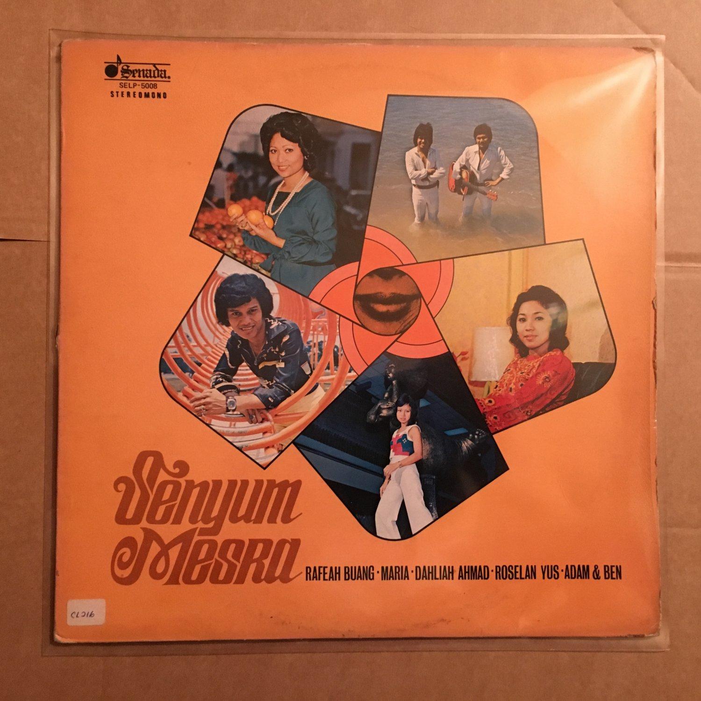 SENYUM MESRA LP various MALAYSIA FUNK POP MELAYU mp3 LISTEN
