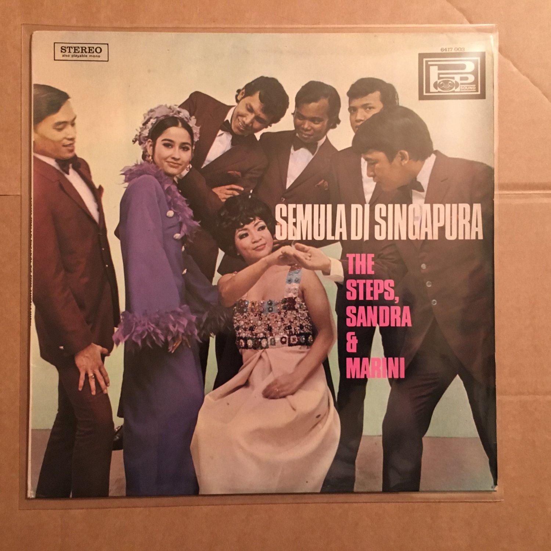 THE STEPS , SANDRA & MARINI LP semula di Singapura INDONESIA KERONCONG GARAGE mp3 LISTEN