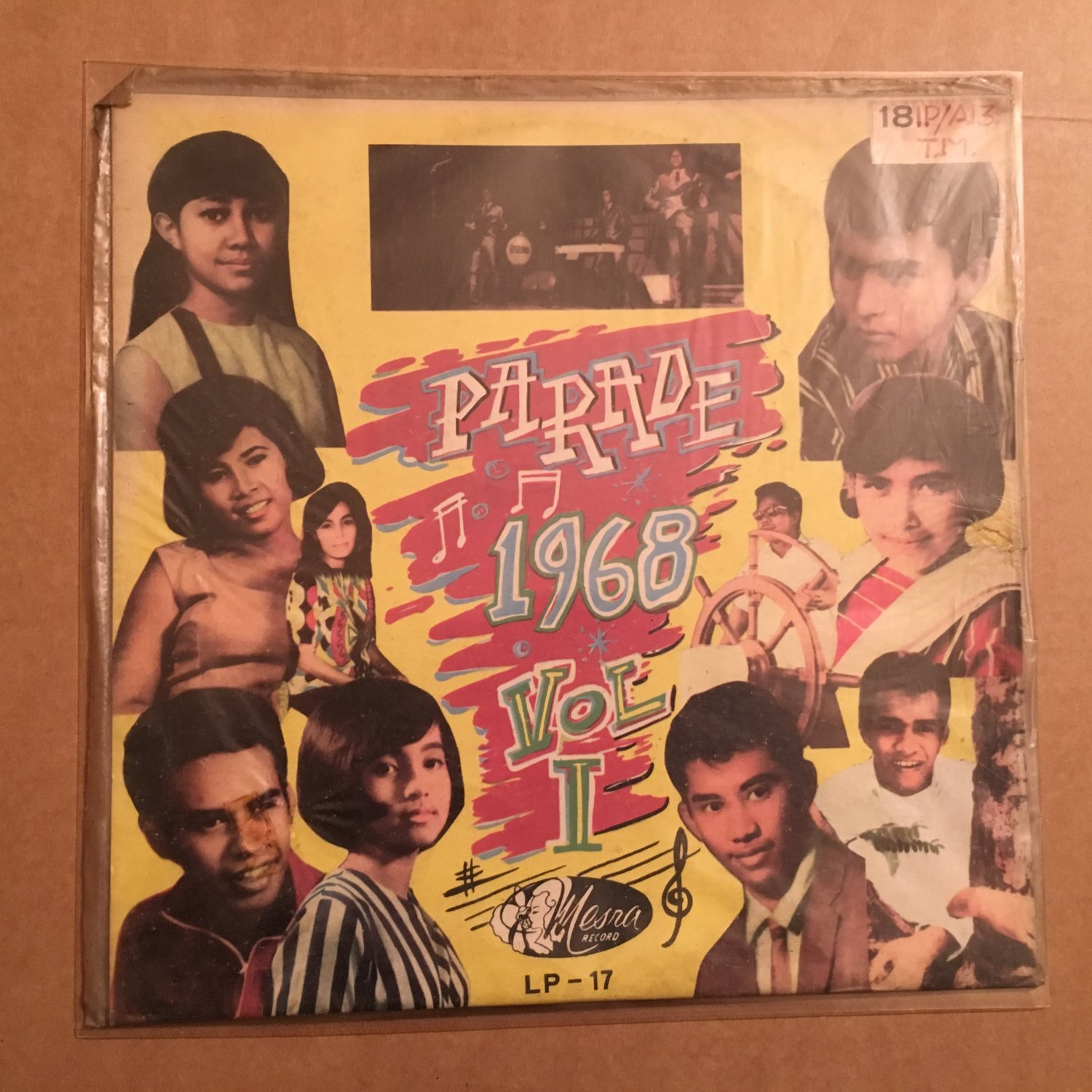 PARADE 1968 LP vol. I INDONESIA MESRA GARAGE mp3 LISTEN
