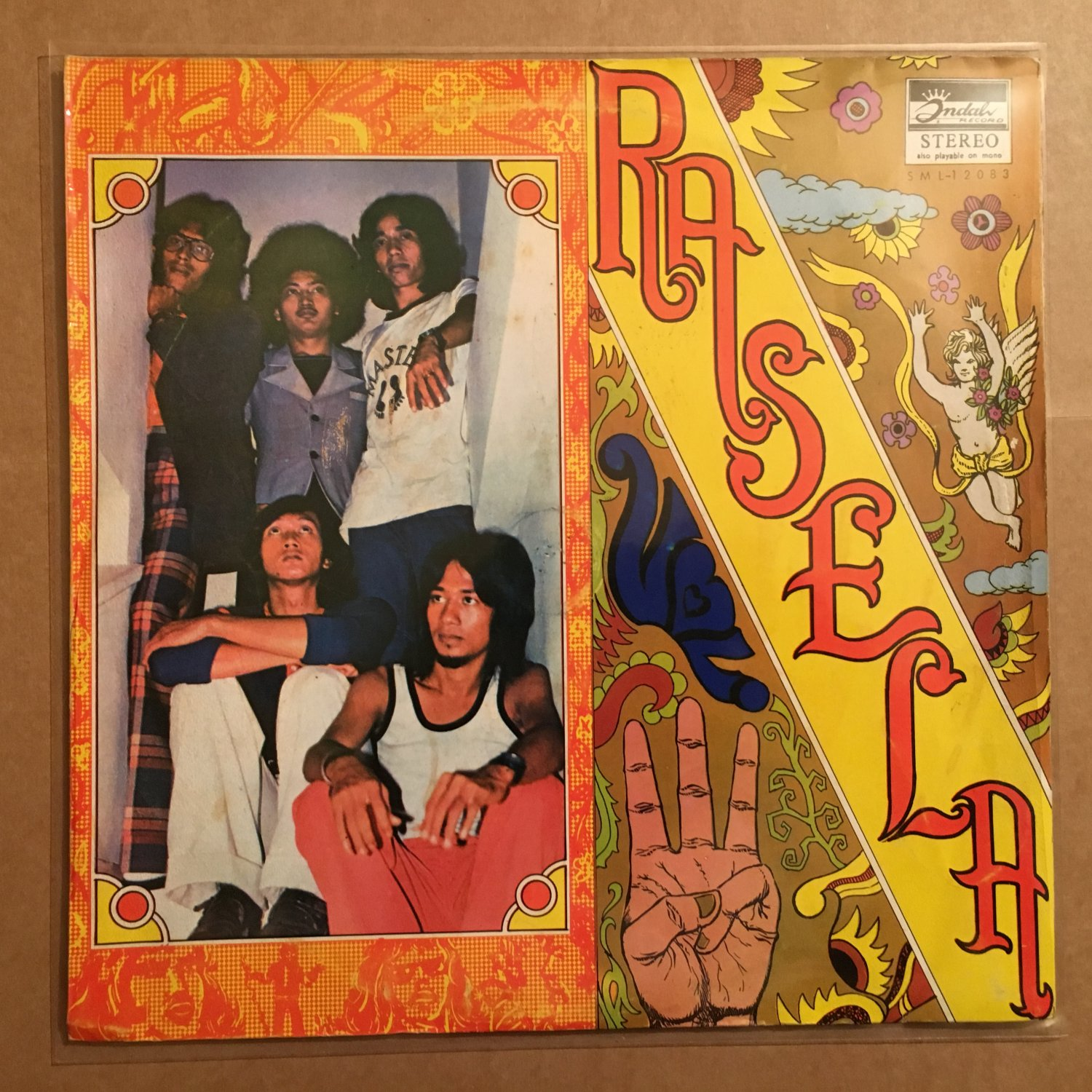 RASELA LP vol. III INDONESIA PSYCH mp3 LISTEN