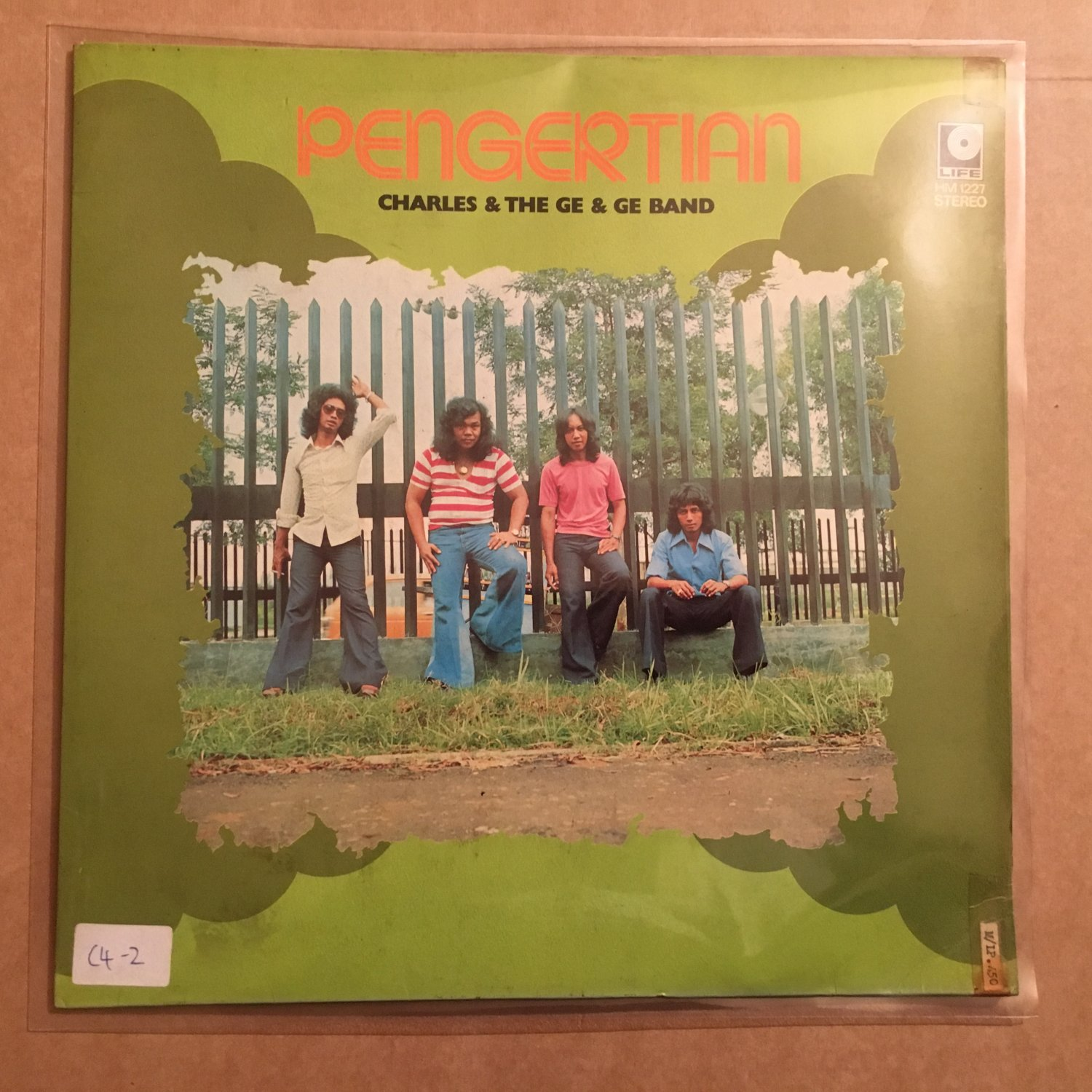 CHARLES & THE GE GE BAND LP pengertian INDONESIA PSYCH BRAZIL BREAKS POP mp3 LISTEN