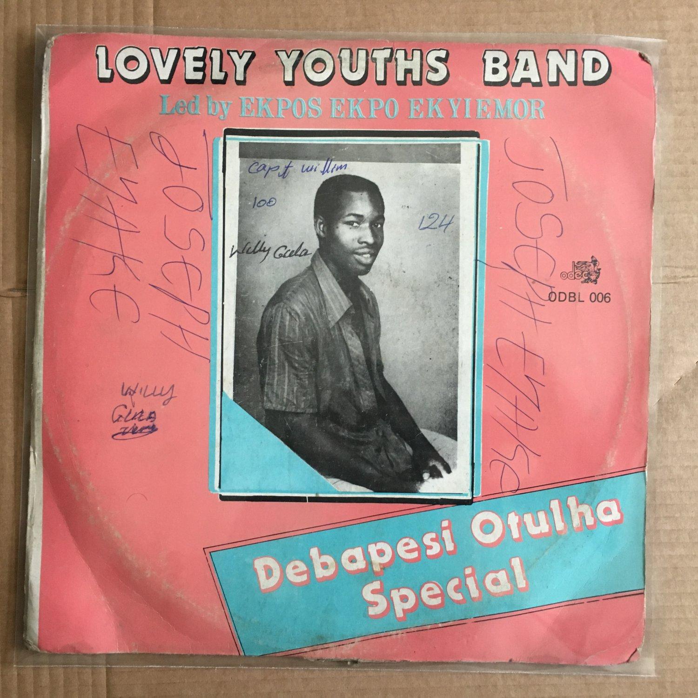EKPOS EKPO EKYIEMOR & LOVELY YOUTHS BAND LP debapesi otulha NIGERIA HIGHLIFE mp3 LISTEN