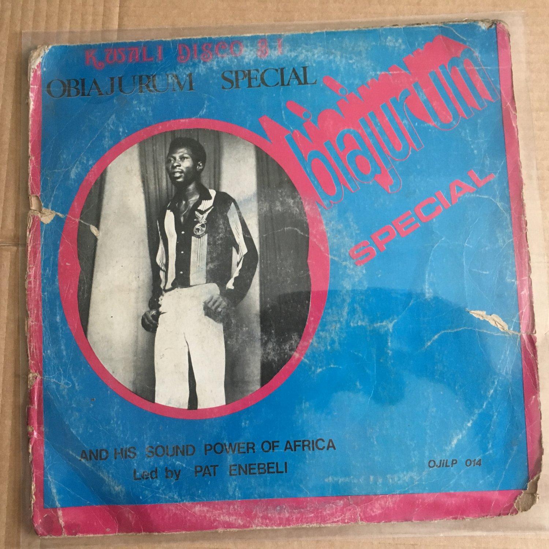PATRICK ENEBELI & HIS BAND LP obiajurum special NIGERIA HIGHLIFE mp3 LISTEN