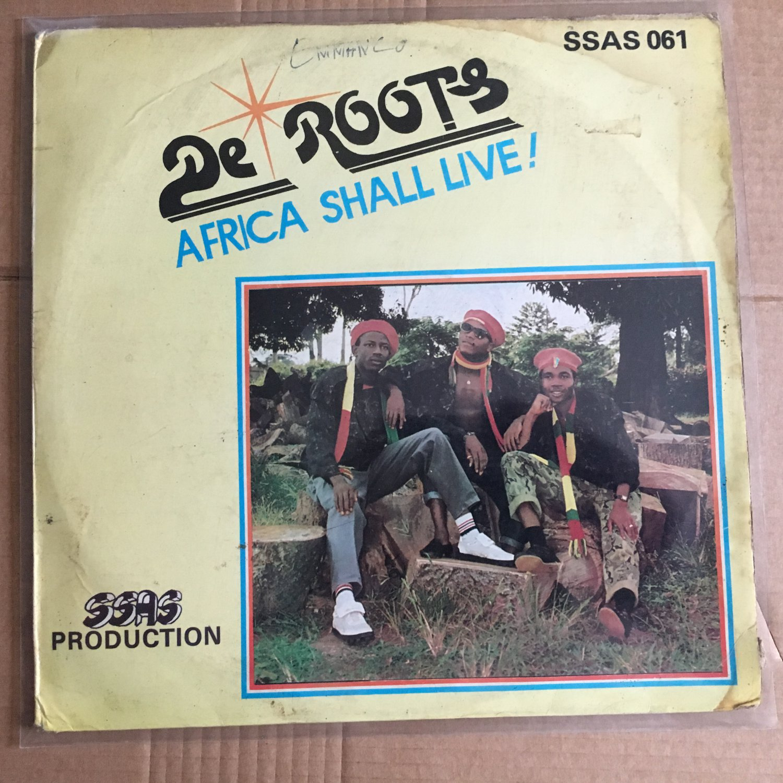 DE ROOTS LP Africa shall live NIGERIA REGGAE mp3 LISTEN
