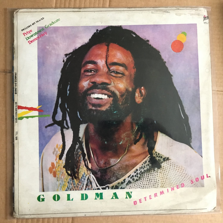 FRANCIS GOLDMAN LP determined soul NIGERIA REGGAE mp3 LISTEN