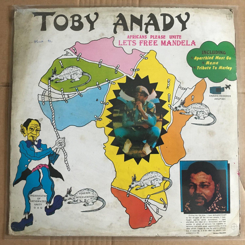 TOBY ANADY LP africans please unite NIGERIA REGGAE BOOGIE FELA DEY mp3 LISTEN