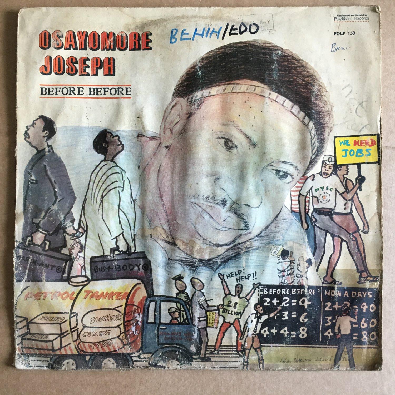 OSAYOMORE JOSEPH & THE ULELE POWER SOUNDS LP before before NIGERIA EDO FUNK mp3 LISTEN