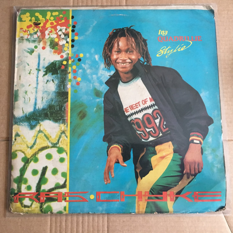 RAS CHYKE LP ina quadrille stylie NIGERIA REGGAE mp3 LISTEN