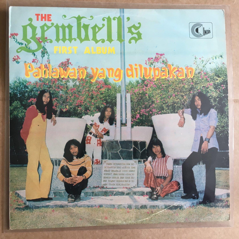 THE GEMBELL'S LP first album Pahlawan yang dilupakan RARE INDONESIA PSYCH FUZZ BREAK mp3 LISTEN