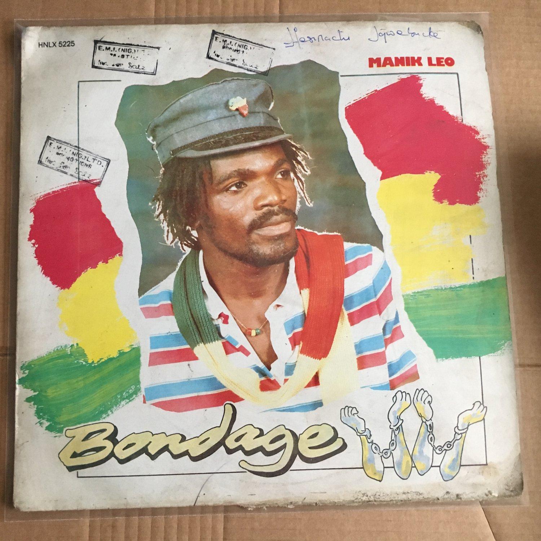 MANIK LEO LP bondage NIGERIA REGGAE mp3 LISTEN