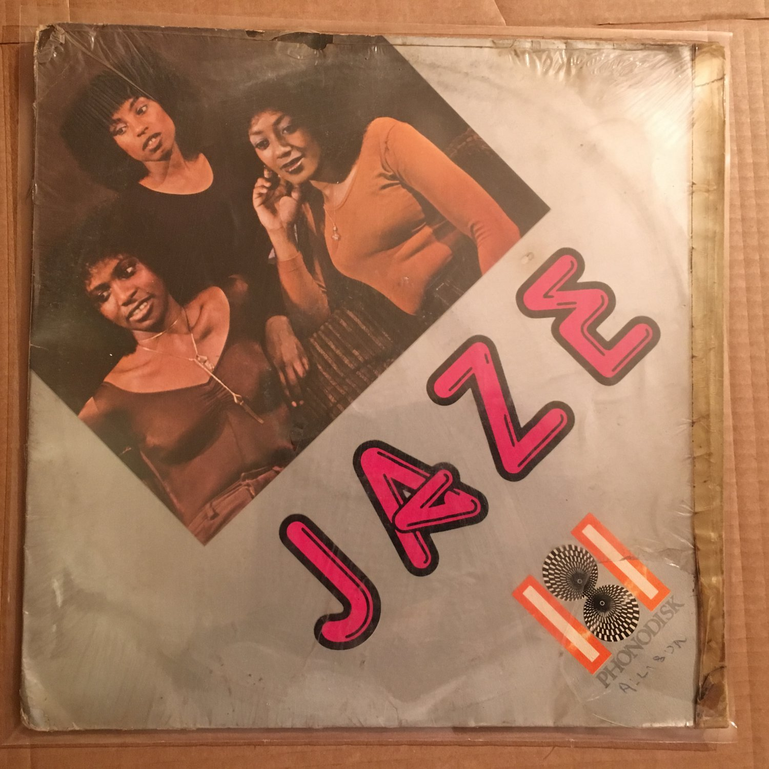 """JAZE 12"""" we wanna get down with you DISCO FUNK BOOGIE mp3 LISTEN"""