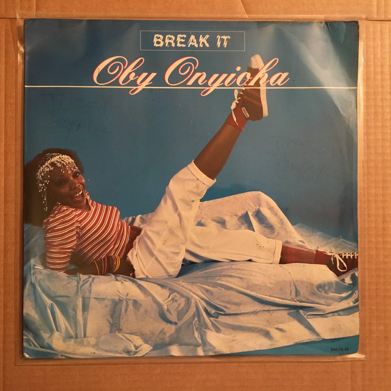 OBY ONYIOHA LP break it NIGERIA BOOGIE FUNK mp3 LISTEN