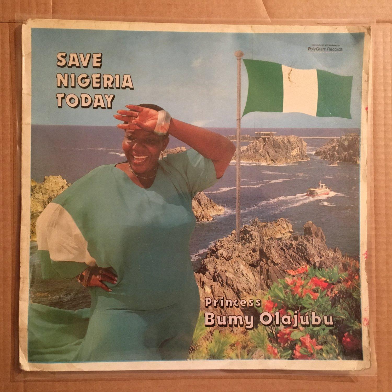PRINCESS BUMY OLAJUBU LP save Nigeria today NIGERIA BOOGIE FUNK MODERN SOUL SYNTH REGGAE mp3 LISTEN