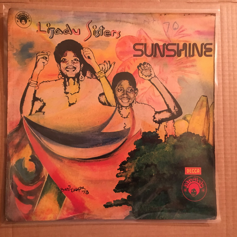 LIJADU SISTERS LP sunshine AFRO FUNK DISCO REGGAE NIGERIA mp3 LISTEN