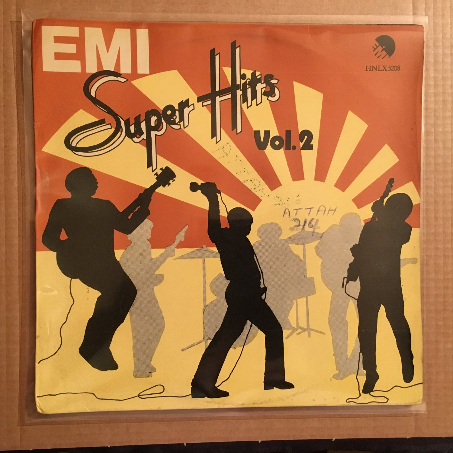SUPER HITS LP various vol. 2 AFRO FUNK TONY GREY OFEGE MONOMONO mp3 LISTEN