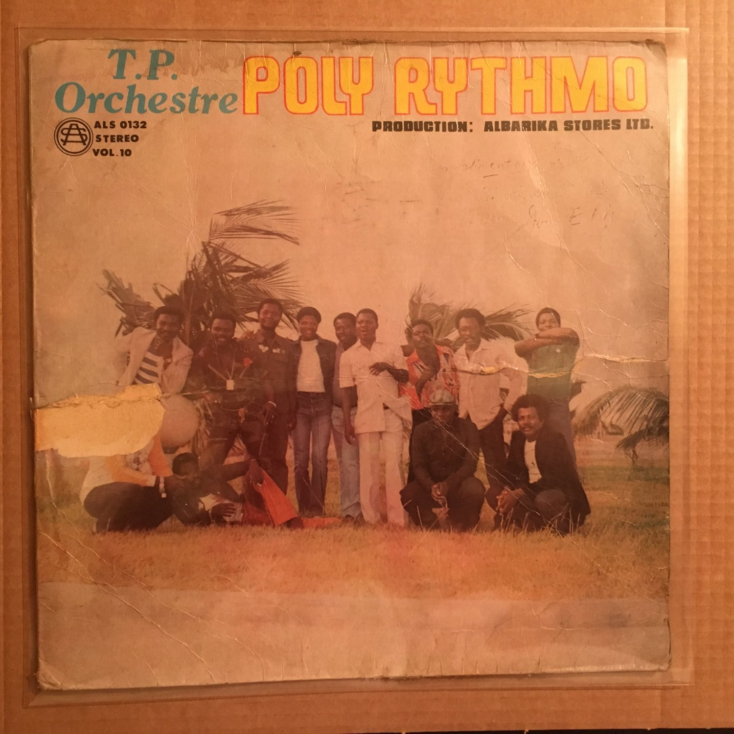TP ORCHESTRE POLY RYTHMO LP vol. 10 BENIN mp3 LISTEN