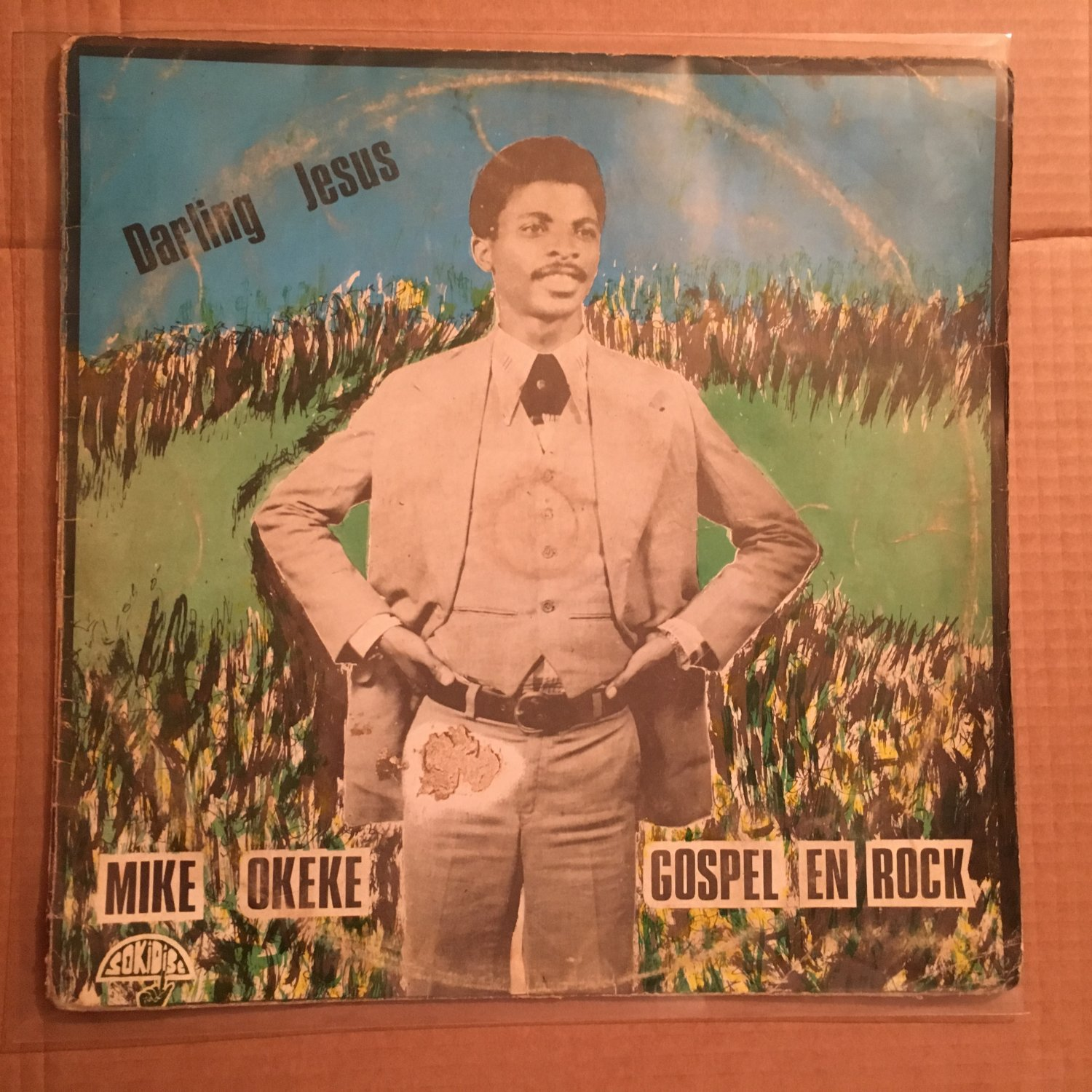 MIKE OKEKE LP darling Jesus NIGERIA GOSPEL ROCK REGGAE mp3 LISTEN