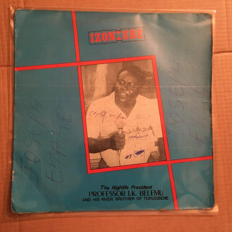 PROF BELEMU & HIS RIVER BROTHER LP izon ebe NIGERIA HIGHLIFE mp3 LISTEN