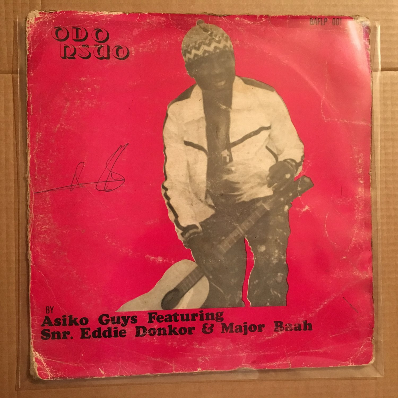 ASIKO GUYS feat. EDDIE DONKOR & MAJOR BAAH LP odo nsuo GHANA HIGHLIFE mp3 LISTEN