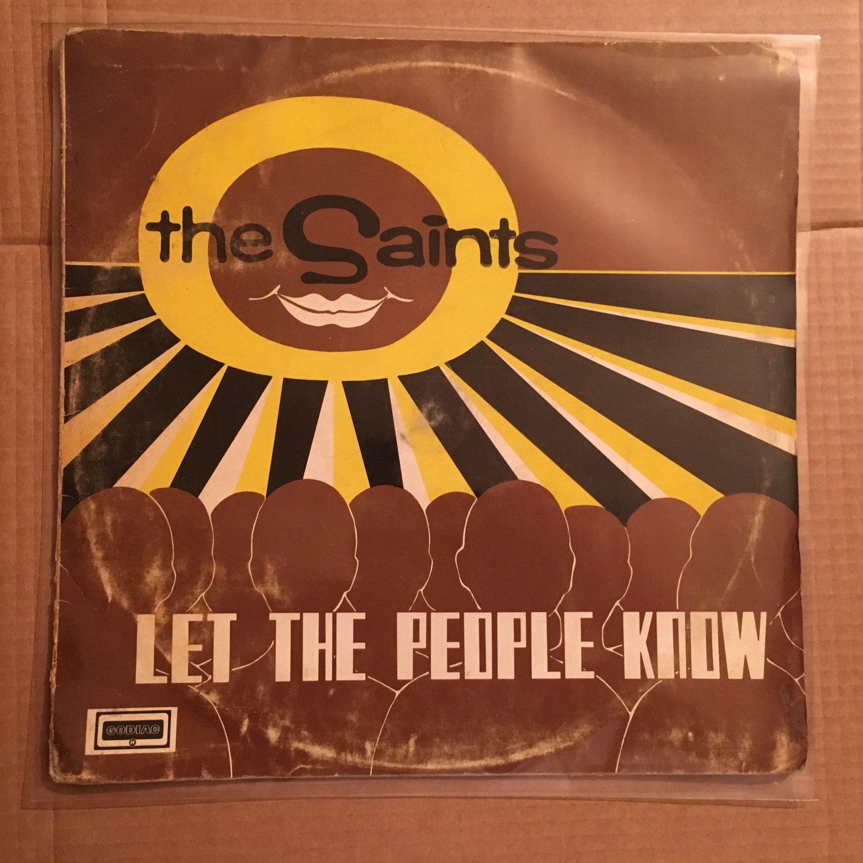 THE SAINTS LP let the people NIGERIA AFRO ROCK SOUL GOSPEL mp3 LISTEN