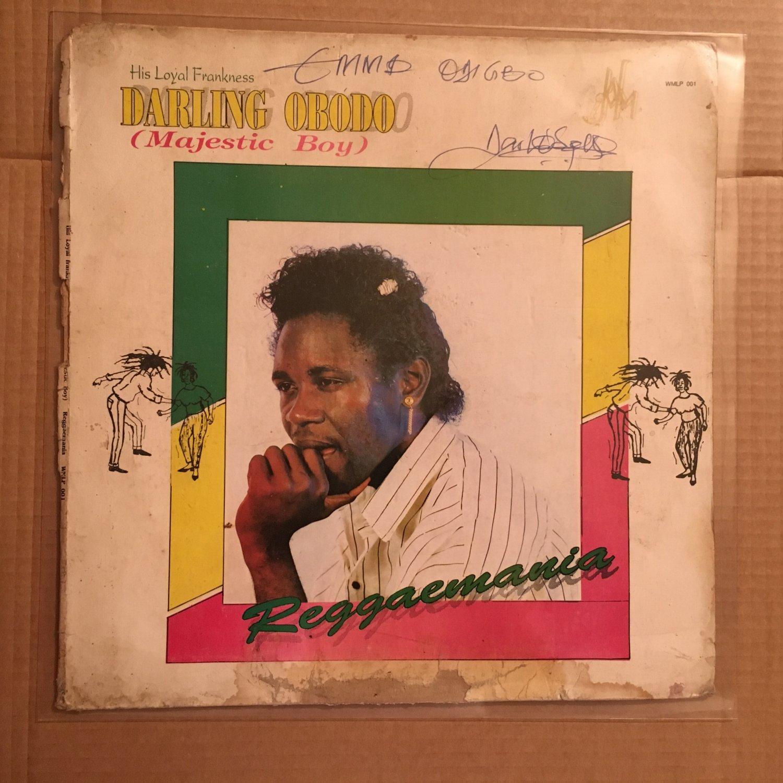 DARLING OBODO LP reggaemania NIGERIA REGGAE mp3 LISTEN