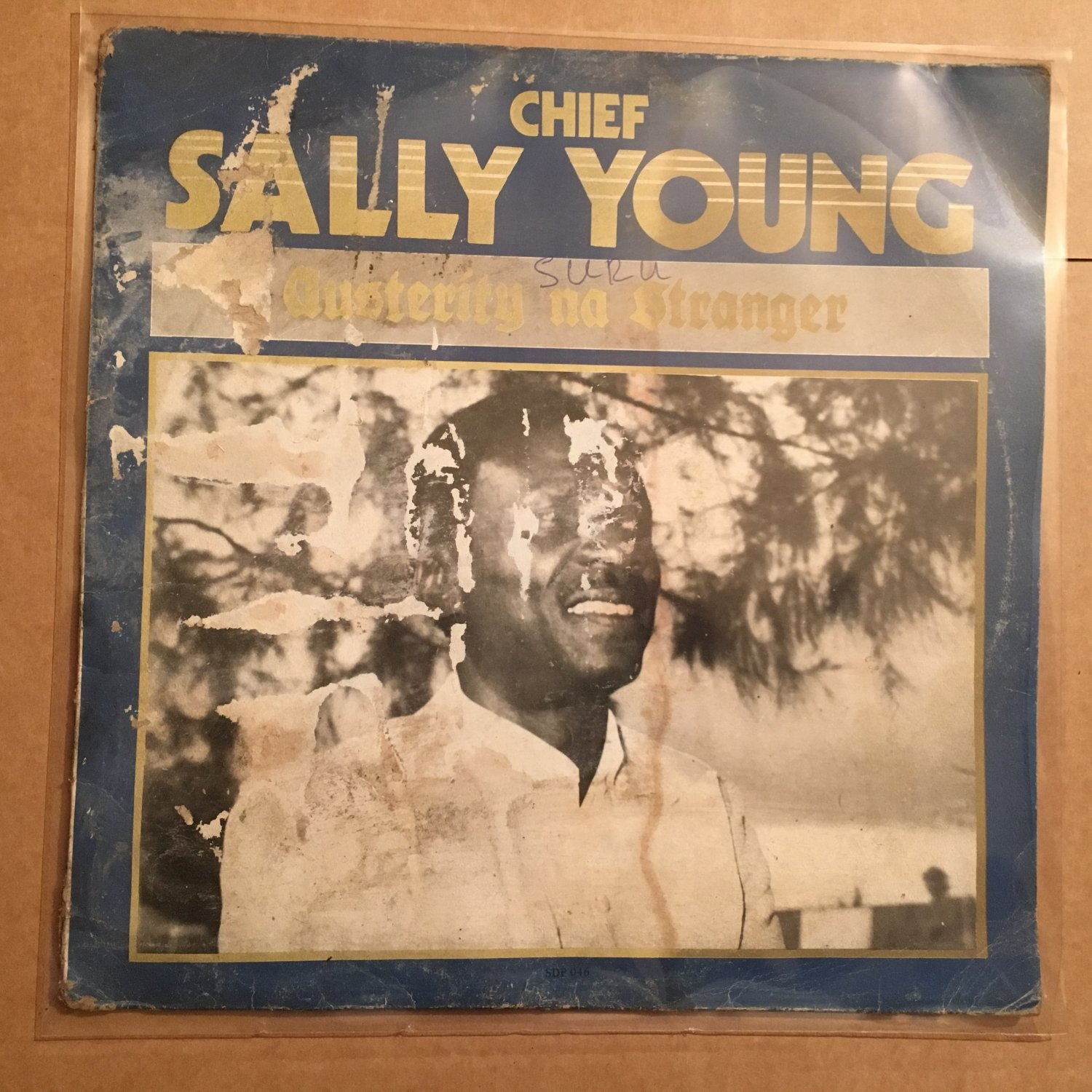 CHIEF SALLY YOUNG LP austerity na strange NIGERIA HIGHLIFE mp3 LISTEN